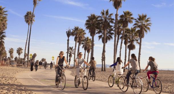 Santa Monica and Venice Bike Tour
