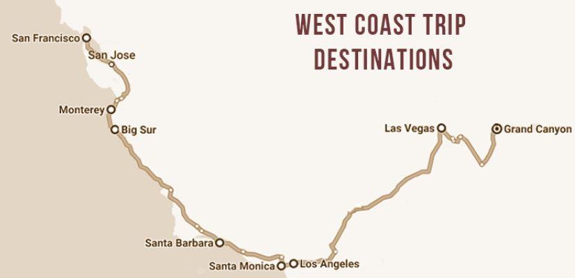 West Coast Trip